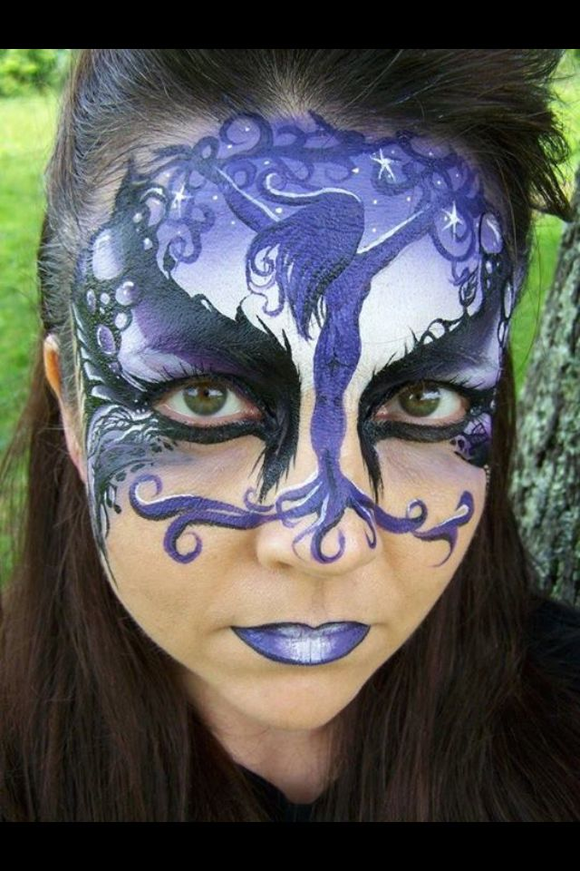Pin By Maryanne Mccartt On Face Painting Collection Face Painting Halloween Face Painting Designs Face Painting