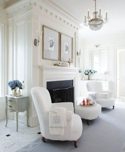 Bathroom Sitting Room Probably Faces A Beautiful Tub