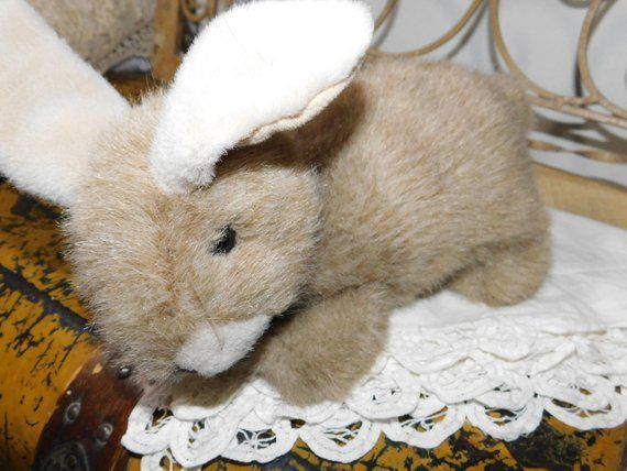Photo of TY Bunny Rabbit Stofftier, 1997 TY Stofftier, Vintage Stofftiere:) s * – #Bunny …