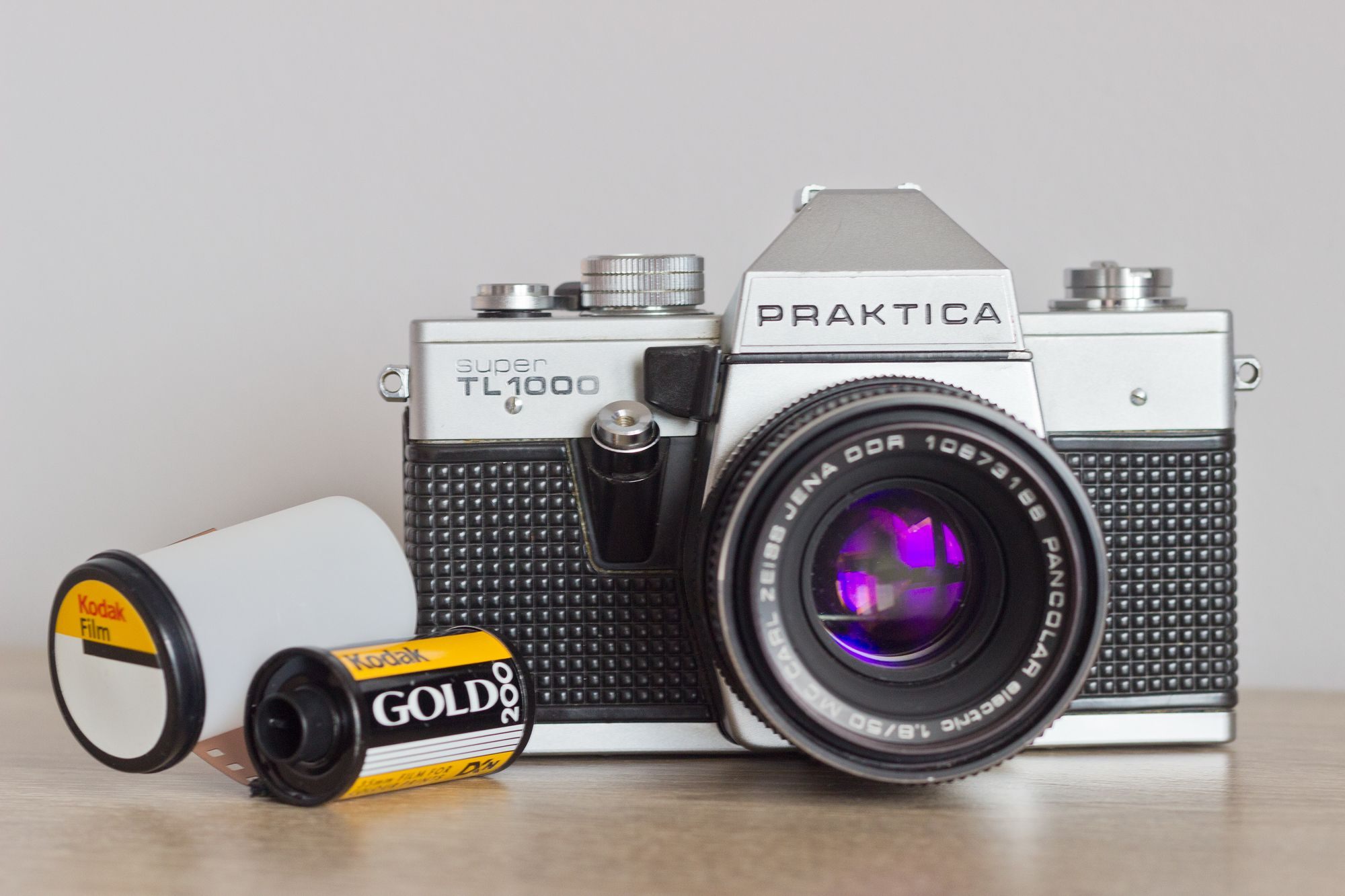 Fotoapparat praktica super tl von veb pentacon dresden