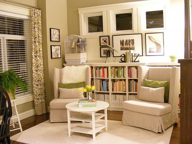 Ikea Billy Bookcase Hack Home Library Design Small Home