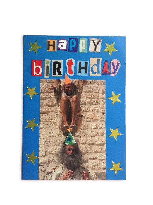 Upcycled handmade birthday card monty python ooak by funktjunk upcycled handmade birthday card monty python ooak by funktjunk 299 bookmarktalkfo Gallery