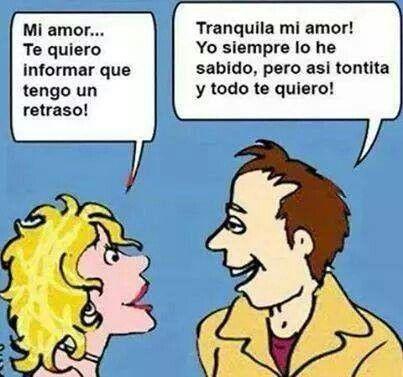El Amor Atonta Frases Divertidas Humor Grafico Atontada