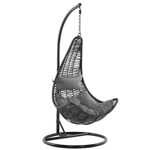 Currin Swing Chair With Stand Ivy Bronx Swinging Chair Hanging Chair Double Hammock With Stand