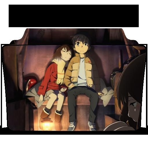 Boku dake ga Inai Machi (Erased) folder icon