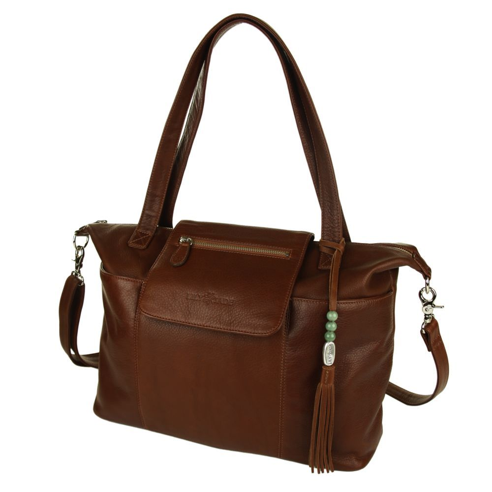 A designer diaper bag by Lily Jade will accompany you on your journey through motherhood and beyond. Our innovative designer diaper bags are meticulously hand crafted from superior leathers and include a removable and washable inner organizer.  Many of our diaper bags convert to use as a backpack.