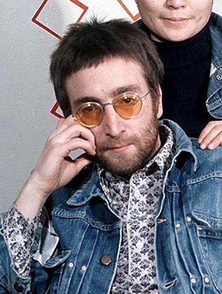 d6e1f0d9467 John Lennon Sunglass Style in 2019