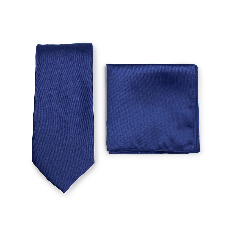Royal Blue Tie With Pocket Square Blue Royal Linen tie  Royal pocket square  Men/'s Necktie  Royal Tie For Men  Men/'s blue tie