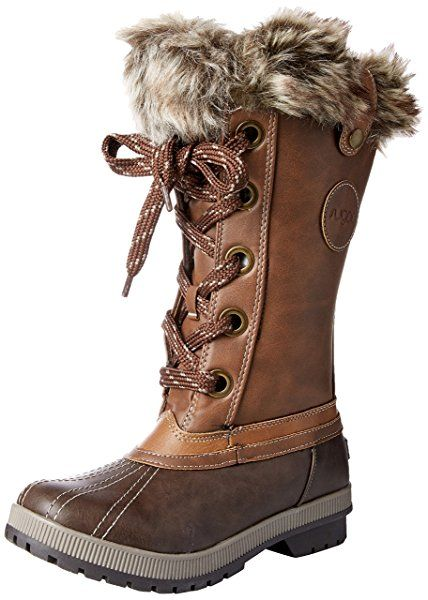 Amazon.com   Sugar Women's Sgr-Marlon Snow Boot, Brown/Cognac,