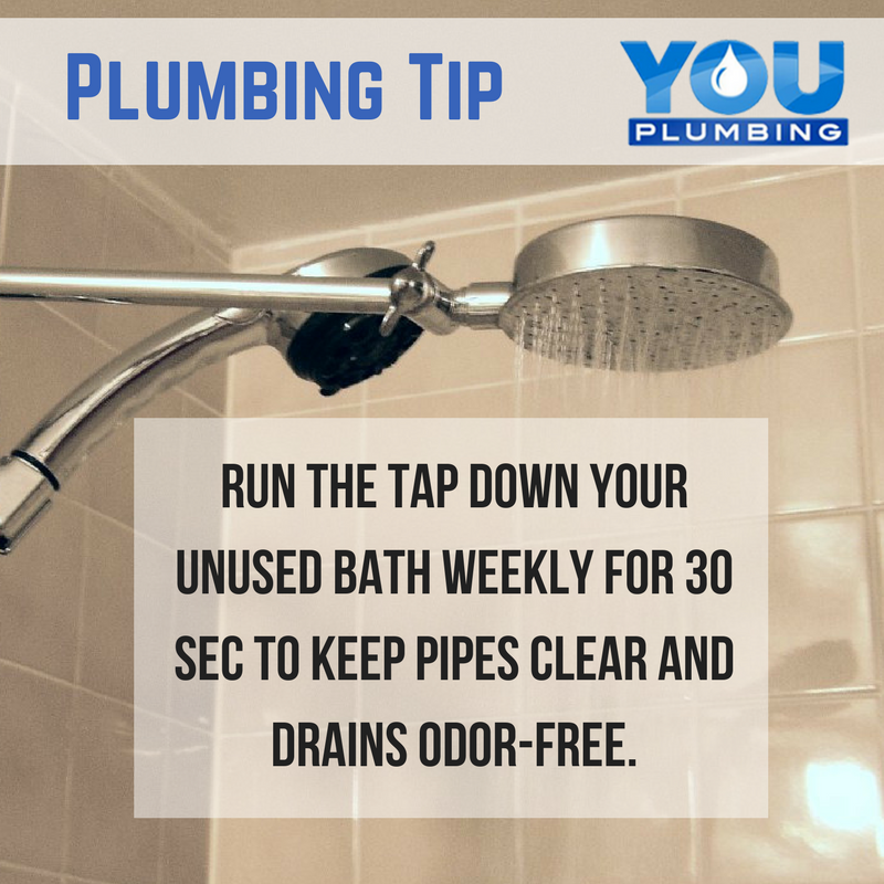 Do You Have An Unused Bath In Your Home Plumbingtip