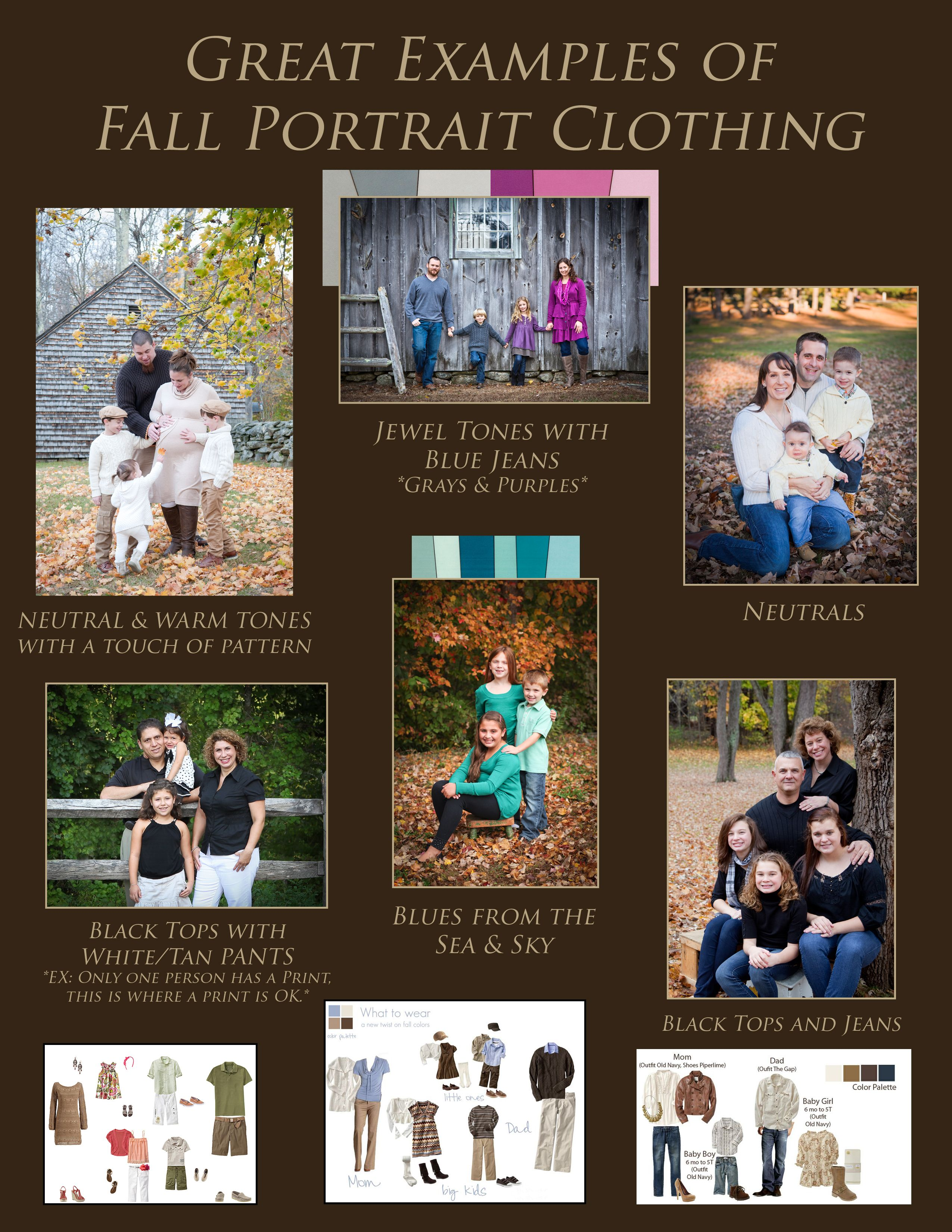 Here are some examples from J. Sophia Fotography