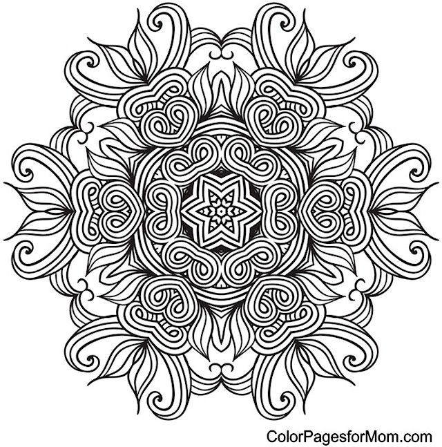 Pin by DeAnna Lea on Color Mandalas Mandala coloring