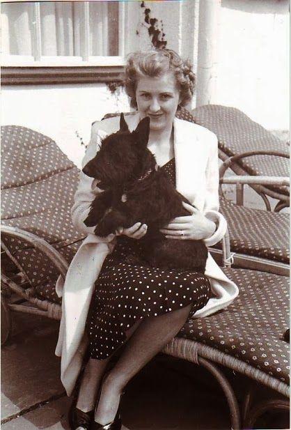 Adolf Hitler — soul-of-eva: Eva and Adolf with animals, for the...
