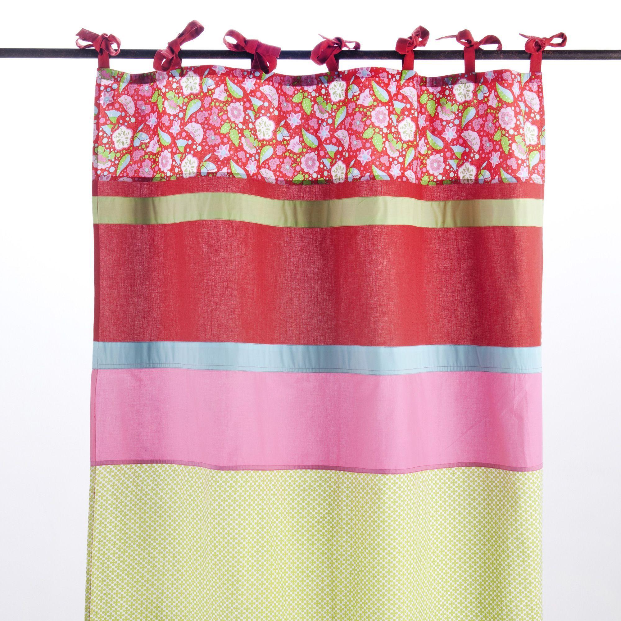Voilage  nouettes Multicolore Tagada Les rideaux et voilages