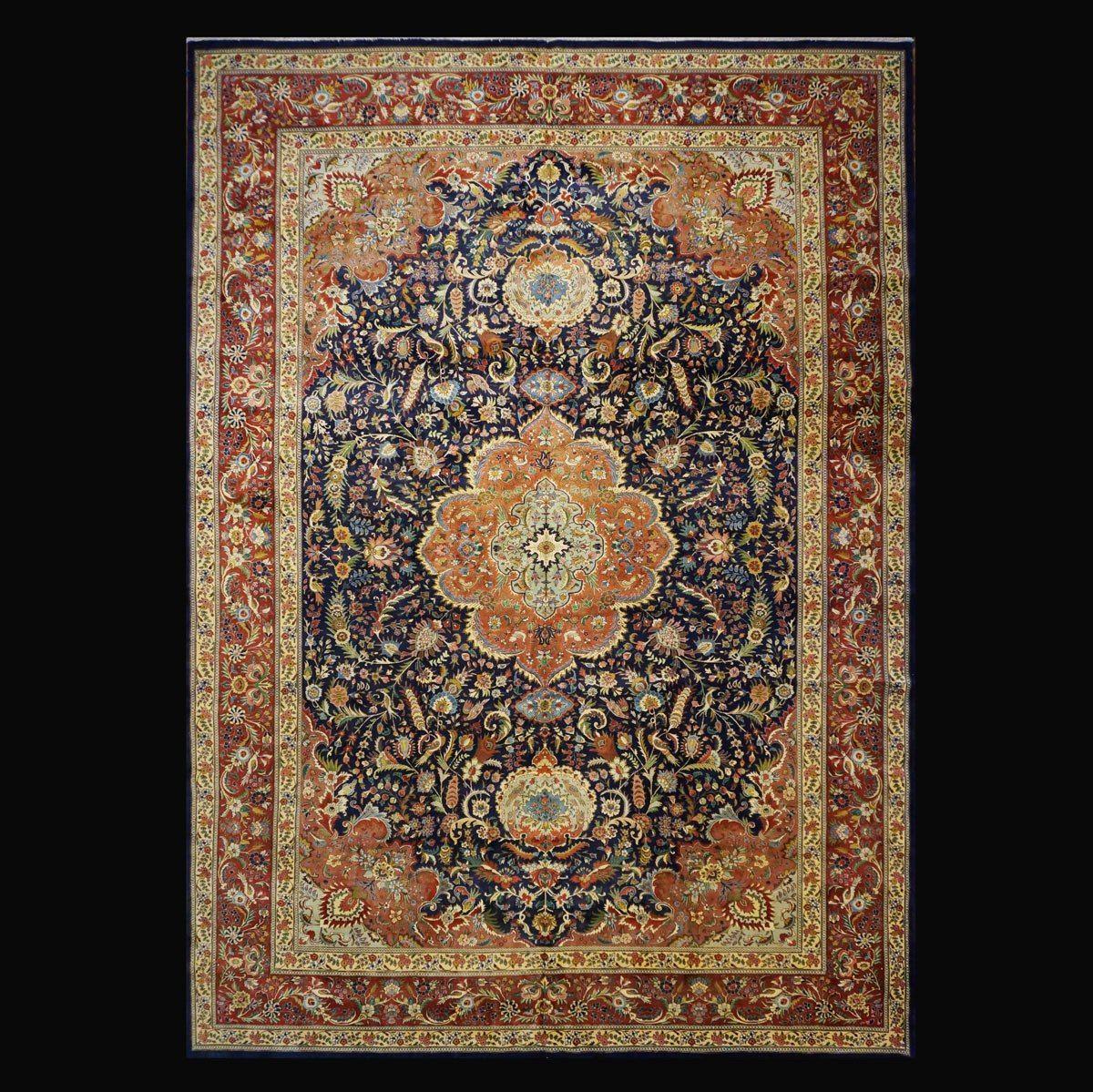 1140951 Antique Persian Tabriz 12 1x18 6 Circa 1940 Fine Rugs Rug Store Rugs