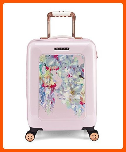 04bcbe046 Ted Baker Polycarbonate Small 4 Wheel Trolley - Hanging Gardens - Dont  forget to travel ( Amazon Partner-Link)