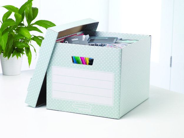 How to be better organised in your home and office - Bankers Box
