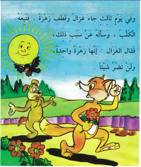 أجمل قصص للاطفال قبل النوم قصة إنها زهرة واحدة قصص أطفال بالصور Arabic Alphabet For Kids Arabic Books Arabic Kids
