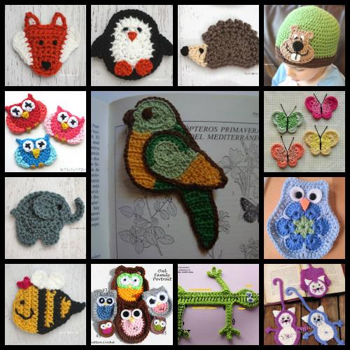 Diversidades Patrones Gratis De Crochet Amigurumi Y Manualidades Apliques De Animalitos A Cr Crochet Patrones Animales De Ganchillo Agarradores De Ganchillo
