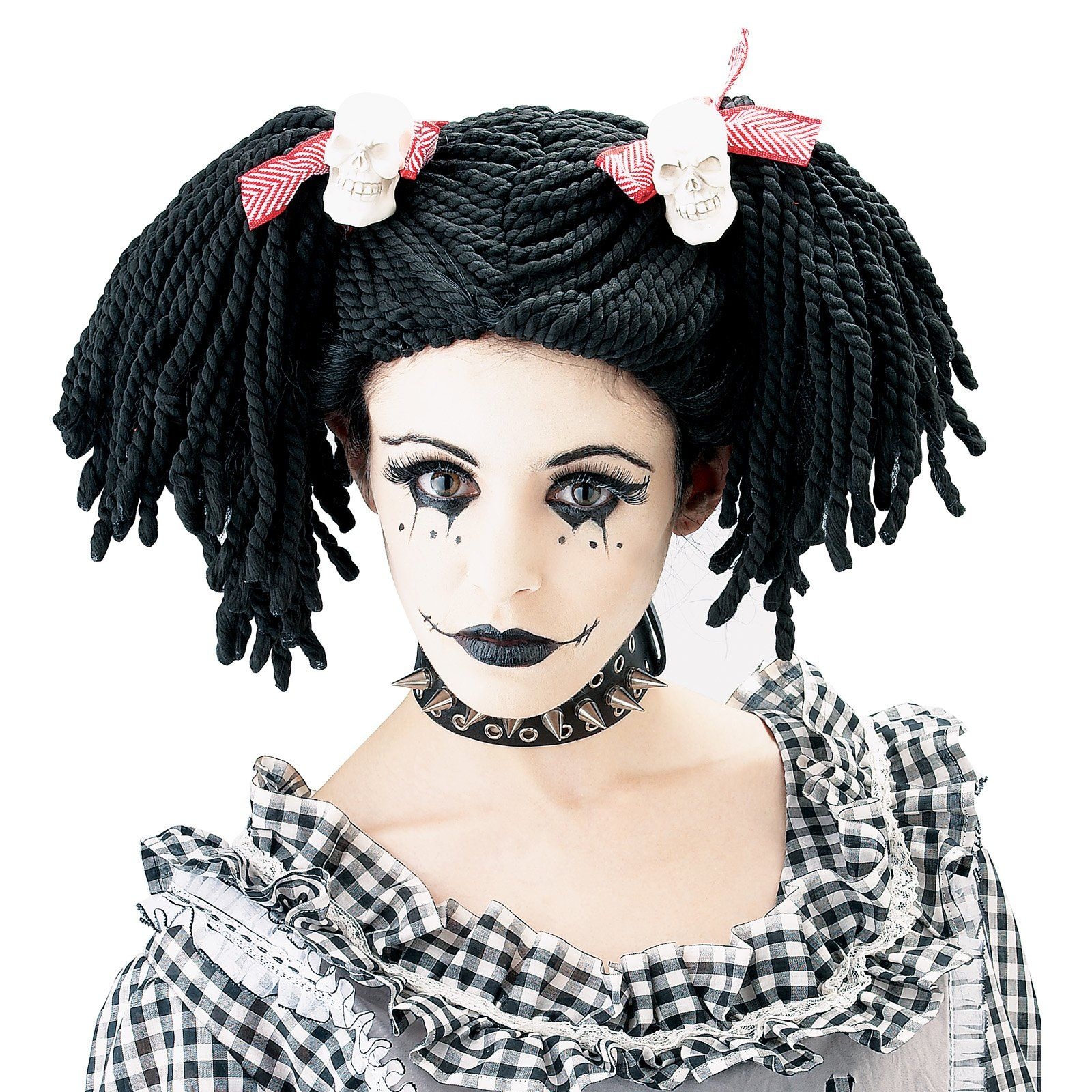 scary doll makeup doll face art and make up halloween pinterest scary doll makeup scary. Black Bedroom Furniture Sets. Home Design Ideas