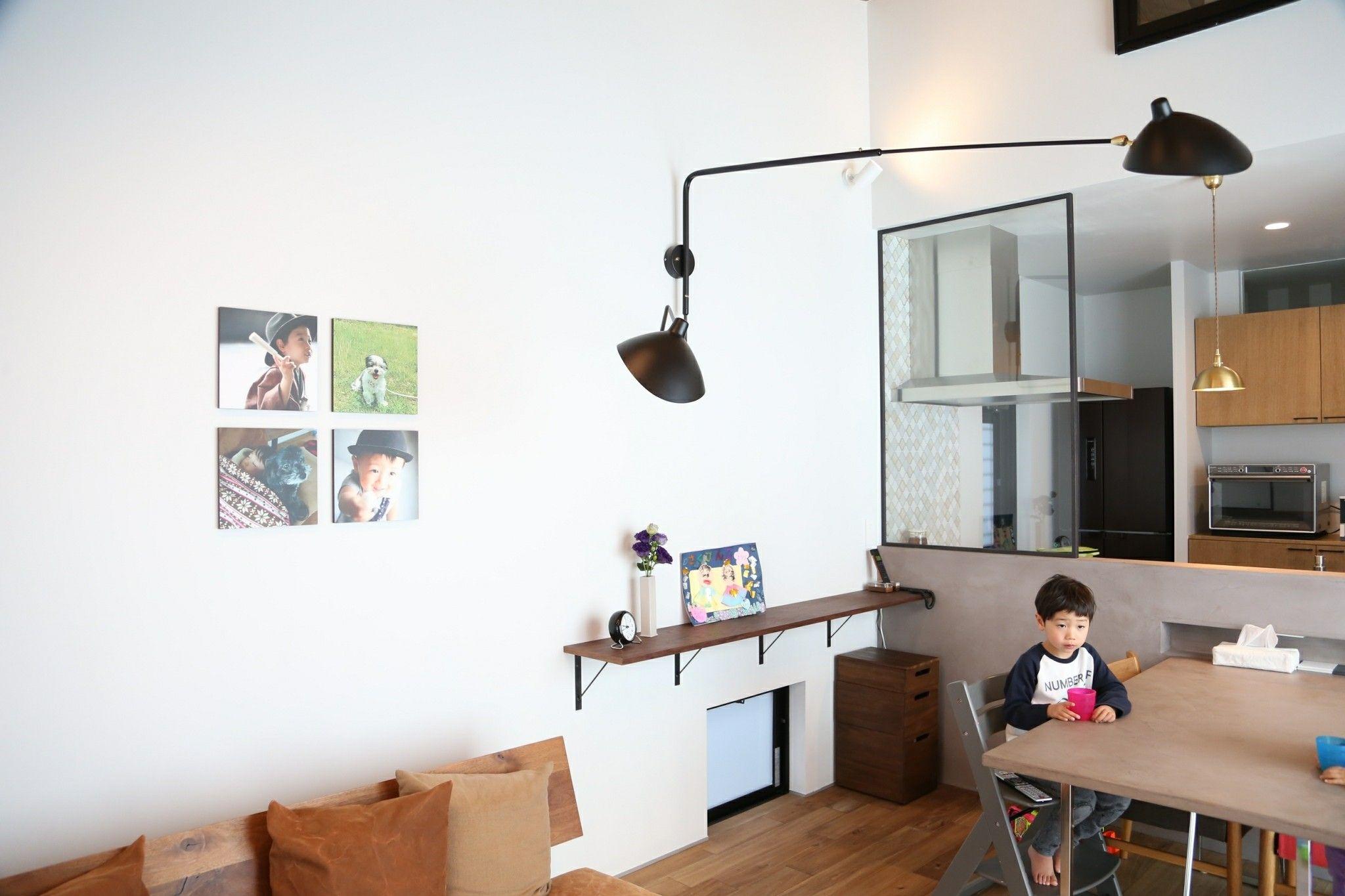 Webオープンハウス 画像多め ミラーが付いたよ とプロの写真