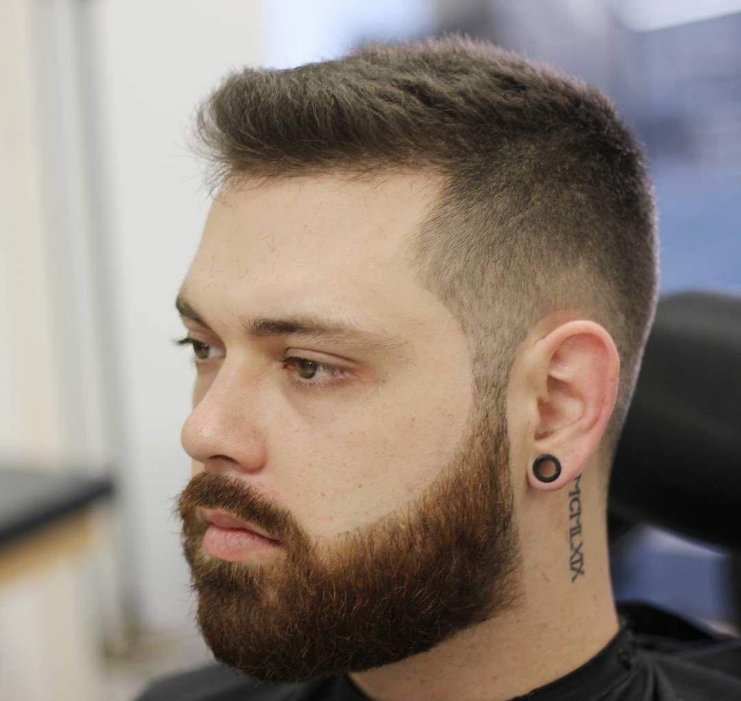 Short Hair With Beard Styles Mens Haircuts Short Short Hair With Beard Faded Beard Styles