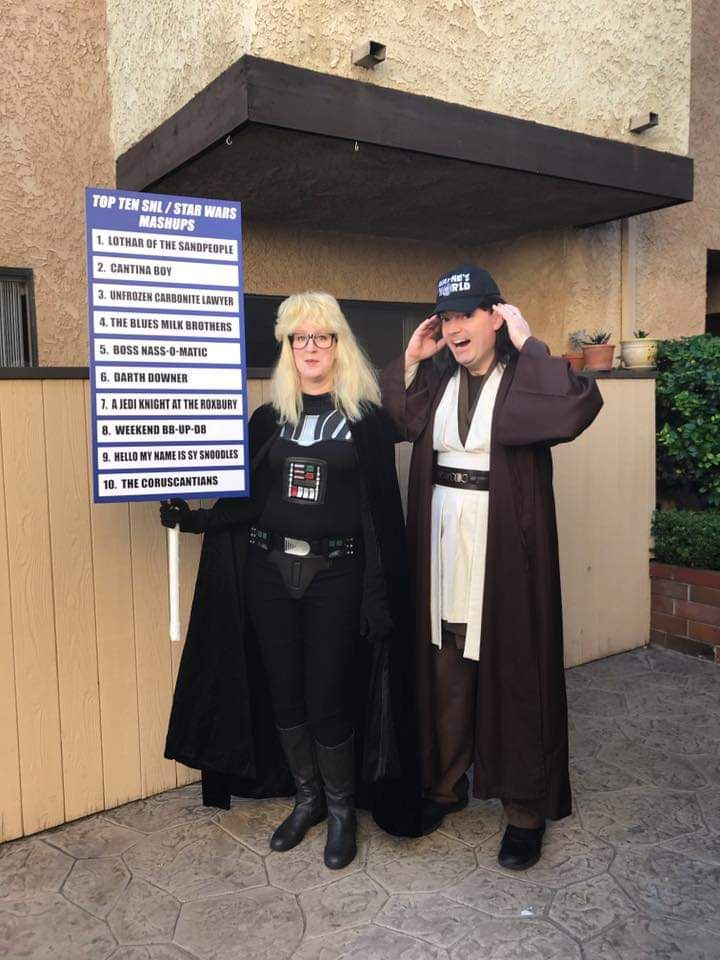 My friend and her husband always bring it at halloween but