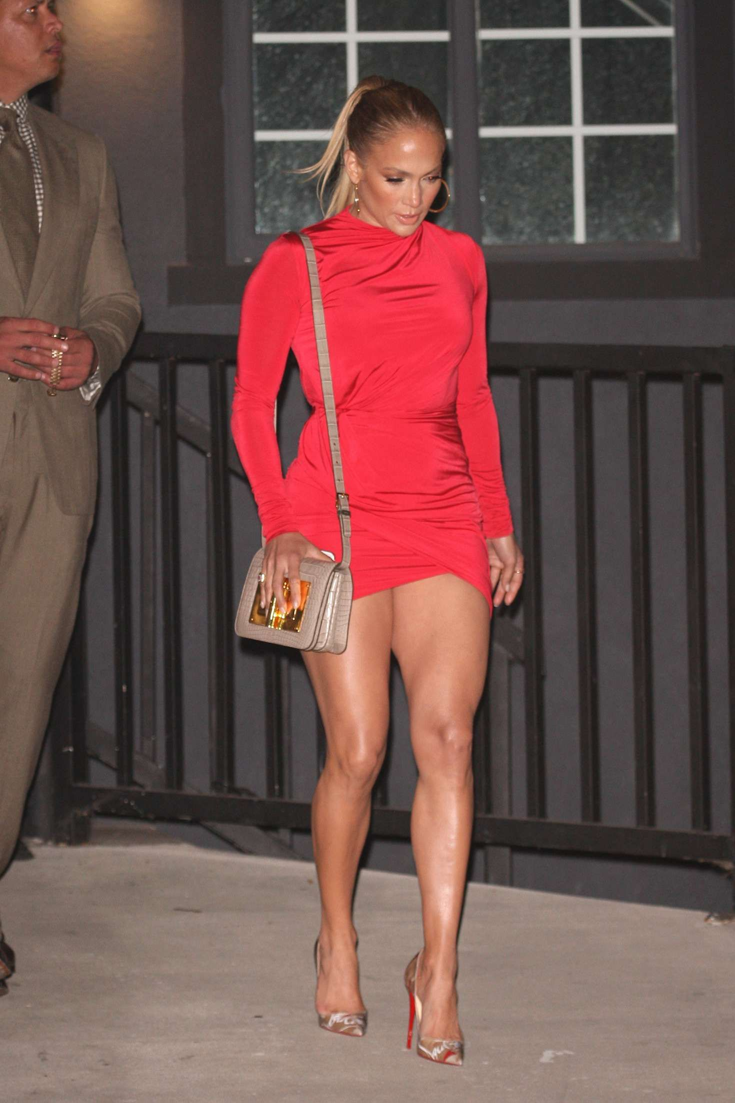 8e43ec986 Jennifer Lopez in Red Mini Dress -09 | actors in 2019 | Jennifer ...