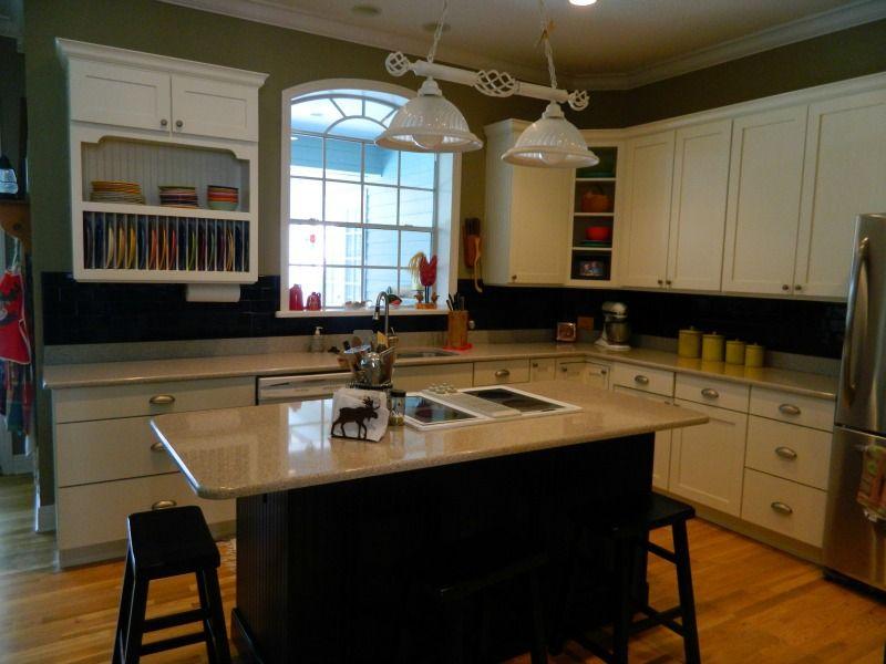 Kitchen Island - Warrner http://www.thekitchensofsk.com ...