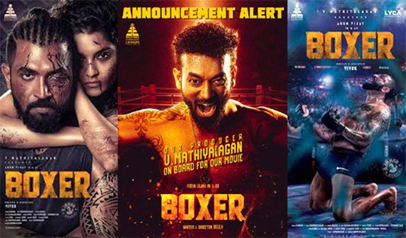 Etcetera Entertainment Producer V Mathiyalagan debuts as actor with Arun Vijay's Boxer