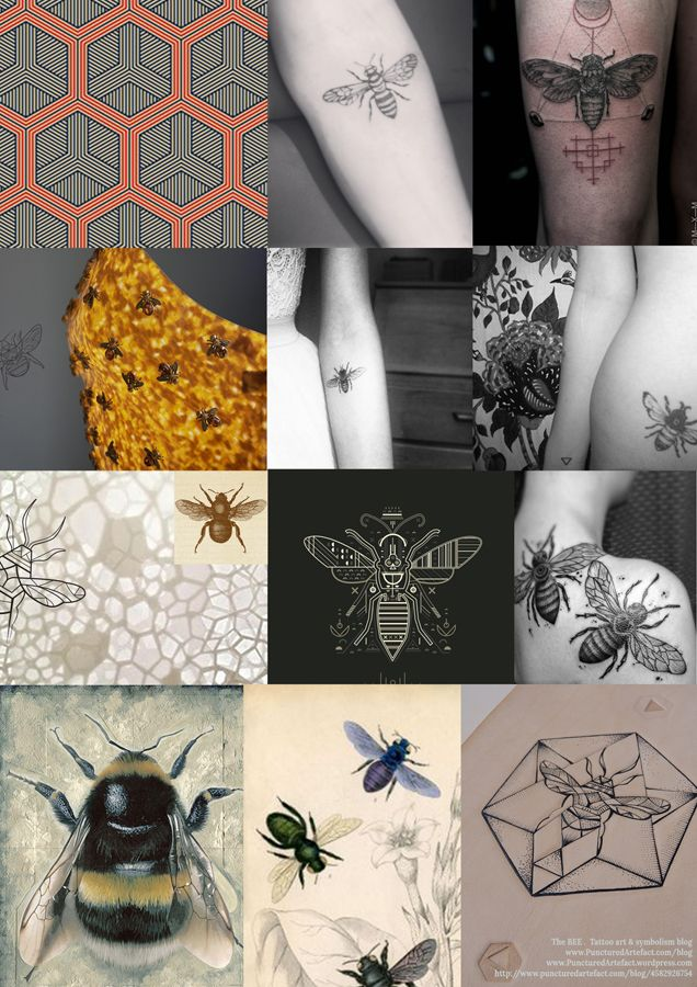 Symbolism The Bee Pinterest Bees And Tattoo