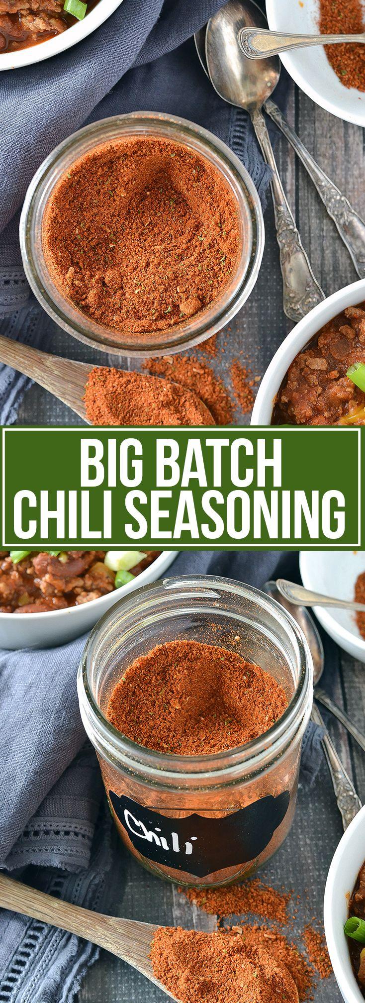 Homemade Chili Seasoning Mix Recipe Homemade chili