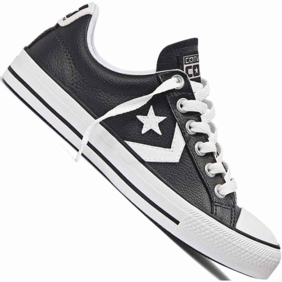 db7a28fb49 Tênis Converse All Star Player OX Casual Masculino Preto