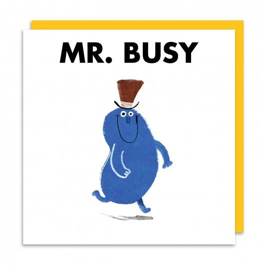 Mr Busy Greeting Card At Http Www Ohhdeer Com Kids Birthday Cards Patchwork Cards Cards