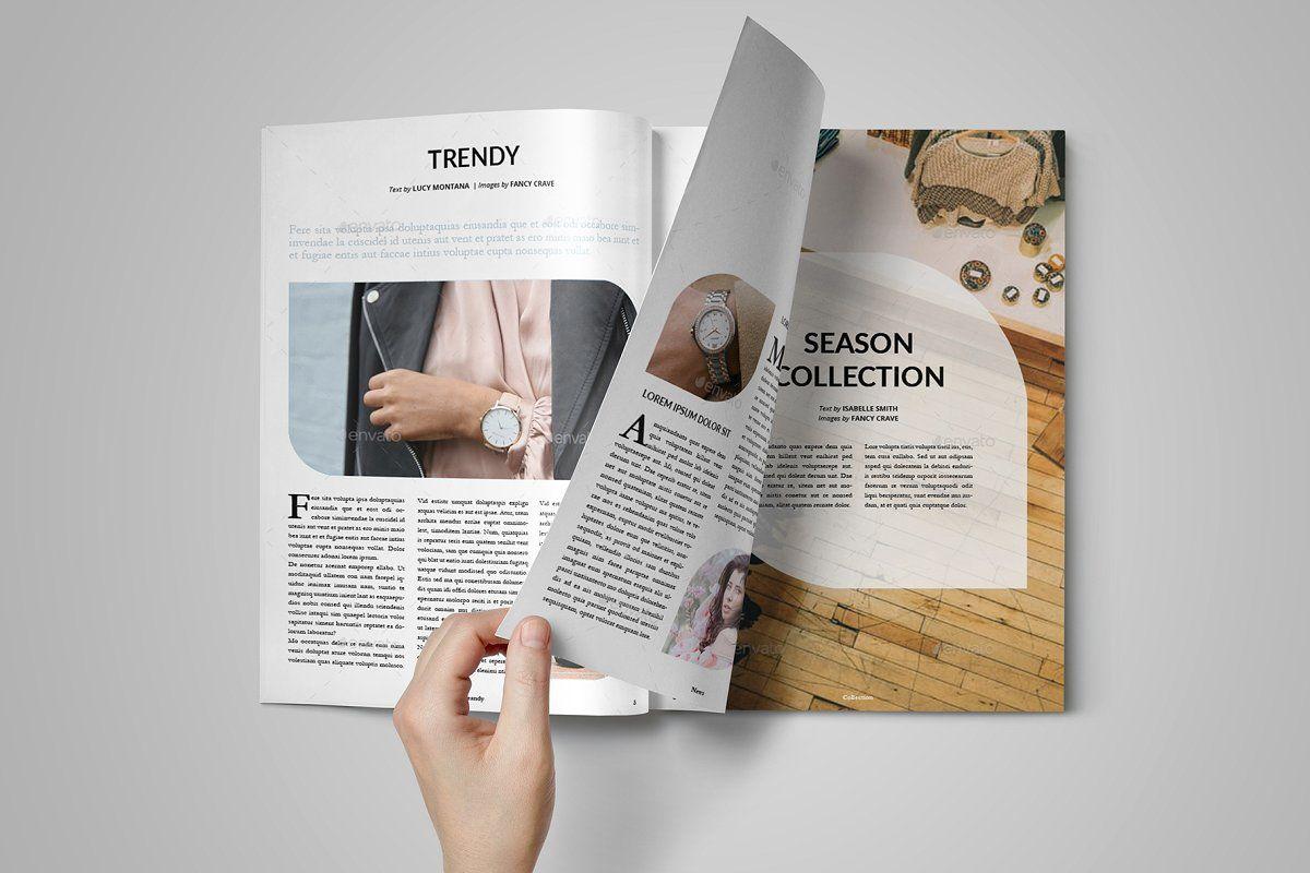 Fashione Indesign Fashion Magazine in 2020 Indesign