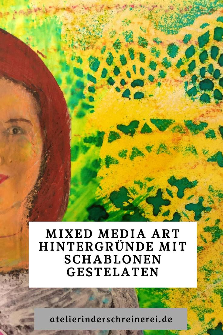 Mixed Media Art Lebt Von Abwechslungsreichen Hintergründen Wie Du