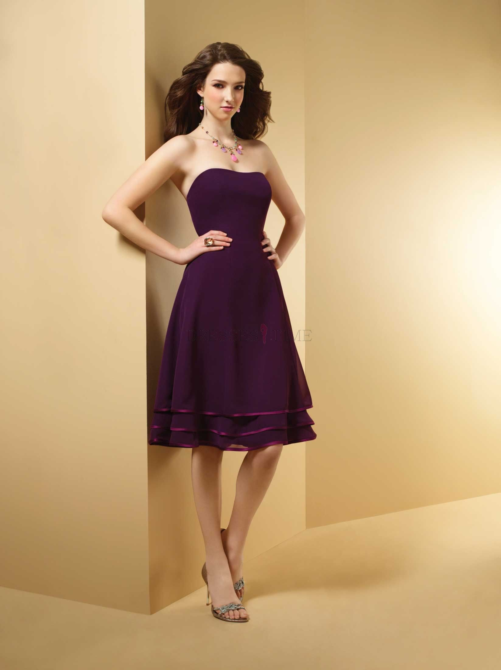 Purple Bridesmaid Dresses Under 50