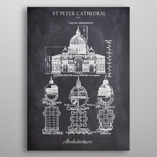 ST PETER_CHALK COLLECTION metal poster | Displate thumbnail