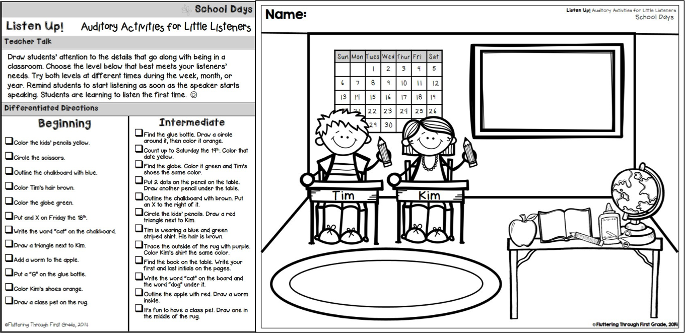 small resolution of Fluttering Through the Grades -   Speech language therapy