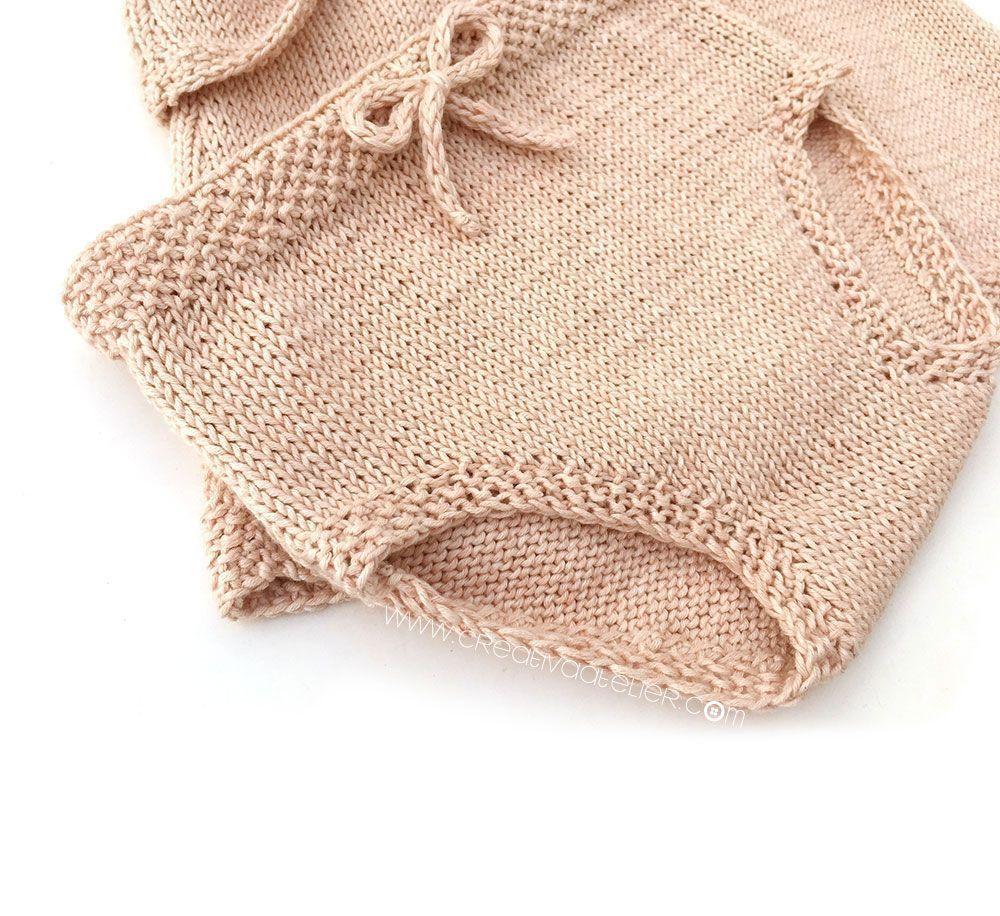 Knitted Diaper Cover - Alba Summer Set Pattern & Tutorial ...
