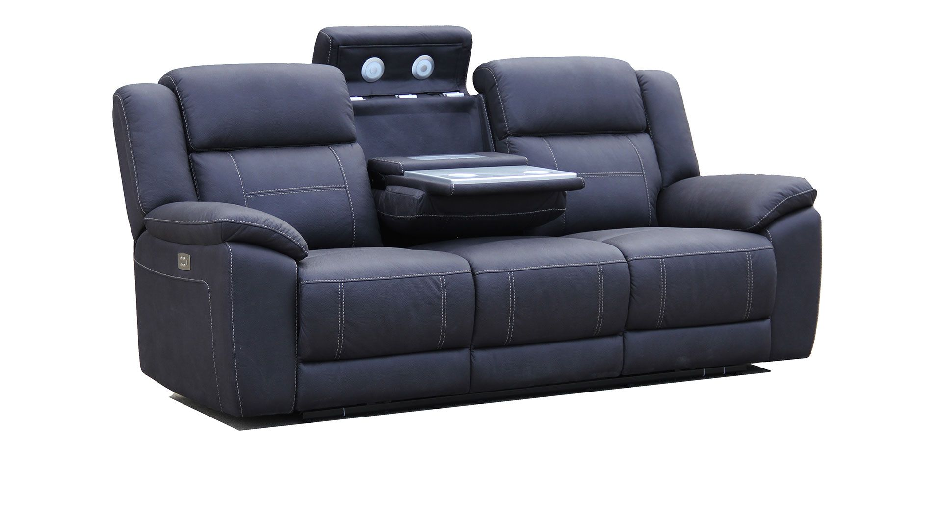 Apollo Mkii 3 Seater With Electric Recliners Plus E Station
