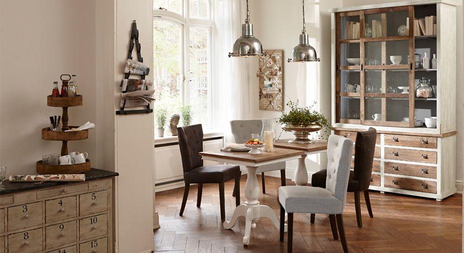 long island esszimmer mit hellen farben und nat rlichen materialien einrichtung pinterest. Black Bedroom Furniture Sets. Home Design Ideas
