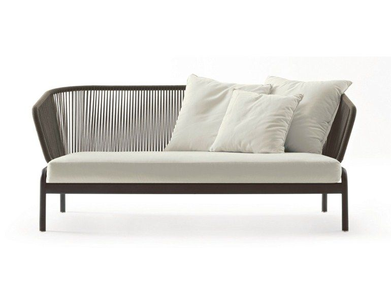 Lounge sofa 2 sitzer outdoor  SPOOL | 2 seater sofa by RODA | design Rodolfo Dordoni | GCH - New ...