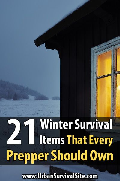 21 Winter Survival Items That Every Prepper Should Own