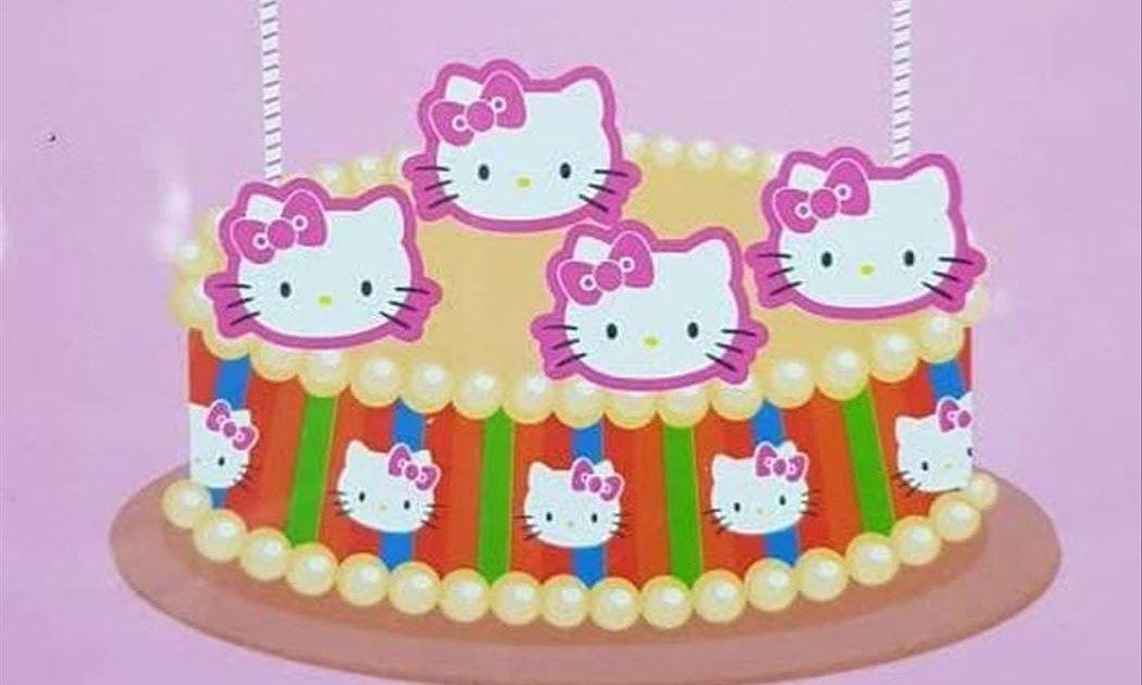 Gambar Kue Ulang Tahun Hello Kitty Terbaru Topper Cake Hello Kitty Hiasan Kue Hello Kitty How To Make Birthday Cake Hello K Di 2020 Kue Ulang Tahun Kue Hello Kitty
