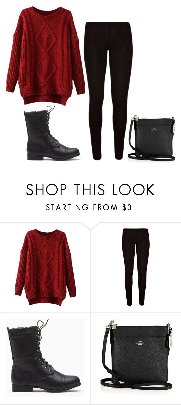 """11.07.15"" by glitter-and-coco-puffs ❤ liked on Polyvore featuring Coach"