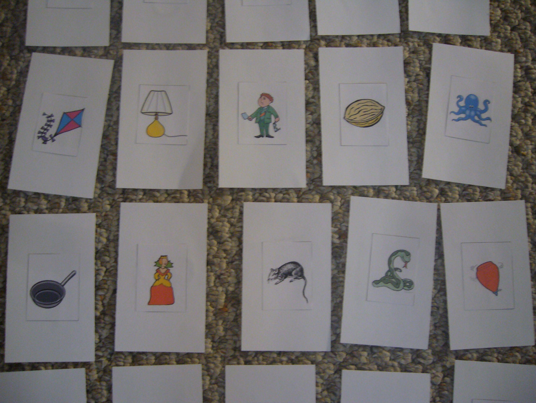 Back Of The Letter Sound Cards K T Keywords Are Derived