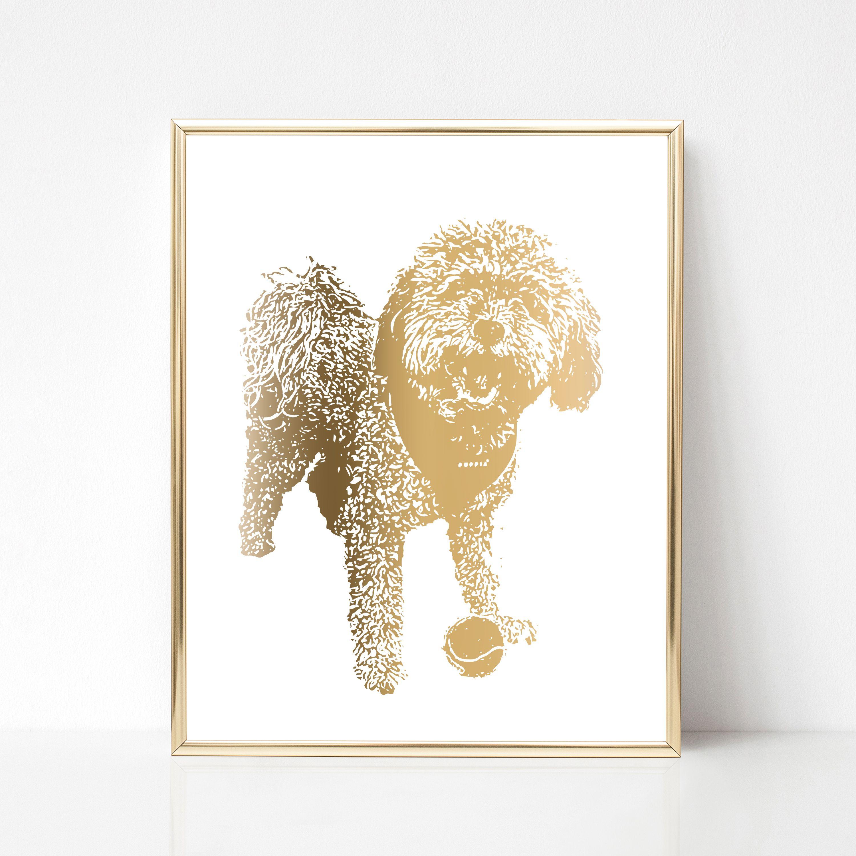 821a2f03952e Custom pet print - Animal portrait print - Custom painting of pet ...