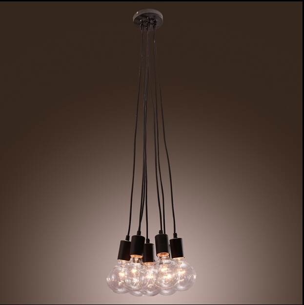 89.00$  Watch now - http://ali3zy.worldwells.pw/go.php?t=32484014470 - Vintage Edison Industrial Style DIY Retro Ceiling Lamps retro industrial lamp  style pendant lighting