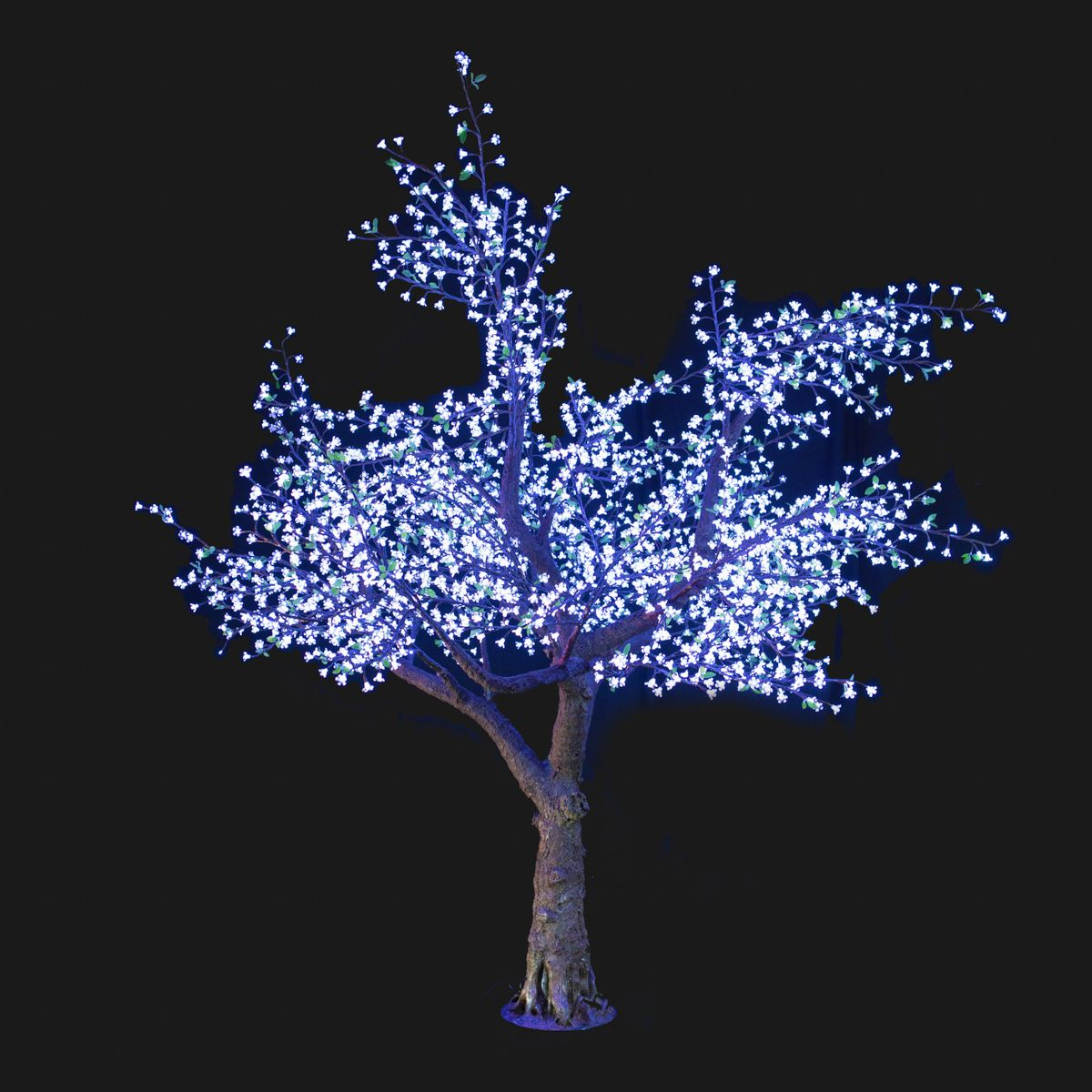 Bright Baum Led Trees 11 Ft Cherry Led Tree In Cool White